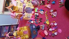 huge bundle of princess sets and castle's