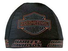 Harley-Davidson Strong H-D Skull Cap Black w/ Bar & Shield Logo SK98630