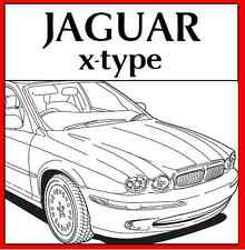 JAGUAR x-type xtype x type WORKSHOP REPAIR SERVICE MANUAL 2001 - 2009