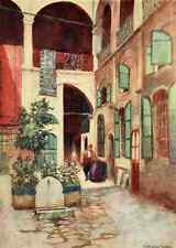 A4 Photo Goble Warwick Constantinople 1906 Carpet Warehouse Print Poster