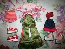 Bratz Doll Clothes outfit First Edition Jade Partial 9 pc