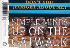 Simple Minds Don't You Forget About Me CD Single THEME10