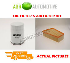 PETROL SERVICE KIT OIL AIR FILTER FOR FORD GALAXY 2.0 145 BHP 2006-