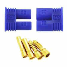 1 Pair EC2 2.0mm Male Female RC Lipo Battery Connector Gold Bullet Plug    I