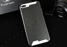 100% MATTE FLAT CARBON FIBER LUXURY CASE W/ GIFT BOX FOR APPLE iPHONE 7 PLUS