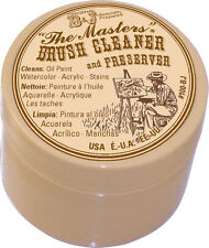 The Masters Brush Cleaner & Preserver 100BJ -1 Ounce-Save expensive brushes