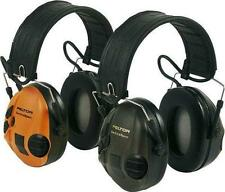 Peltor Sportac Digital Ear Defenders with Interchangeable Cups Ear Muffs