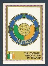 PANINI EURO 77 #129-EIRE TEAM BADGE