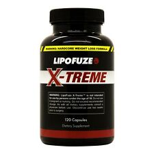 Lipofuze Xtreme - Top Weight Loss Pills for Hardcore Fat Loss - Burn Fat