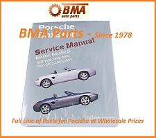 PORSCHE BOXSTER S SHOP MANUAL BOOK SERVICE REPAIR ROBERT BENTLEY PR8003004