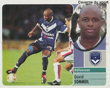 DAVID SOMMEIL GIRONDINS BORDEAUX MANCHESTER CITY.FC STICKER  PANINI FOOT 2003 ~