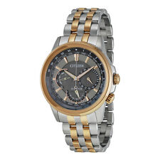 Citizen Eco-Drive Men's BU2026-57H Chronograph Two Tone Bracelet Watch