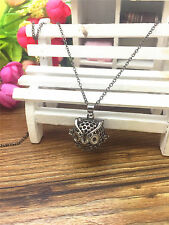 NEW Perfume Fragrance Essential Oil Aromatherapy Diffuser Locket Necklace GZ114