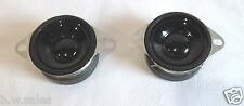 2 x Speakers / Tweeters 25W 4 OHMS 40MM -  High quality with screw holes - Hifi