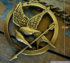 Hunger Games Catching Fire Logo Mockingjay Pendant GIFT for HIM or HER for MEN