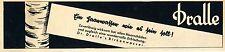 Dr.DRALLE`s  BIRKENHAARWASSER .. wie es sein soll. Historische Reklame von 1942
