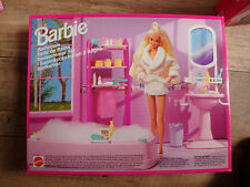 Barbie Vintage 90s Bathroom BNIB Rare Mattel  BNIB NEW 67151-99