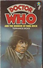 Dr Doctor Who and the Horror of Fang Rock. 1st edn. A great read! Target books.
