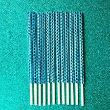 25 Turquoise Bling Cake Pop Sticks Turquoise Rhinestone Cake Pop Sticks