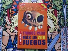 PLAYSTATION MAX GUIA MEDIEVIL 2 Y TRUCOS PARA MÁS DE 200 JUEGOS PS1 PLAYSTATION