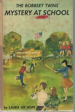 The Bobbsey Twins Mystery at School by Laura Lee Hope copyright 1962