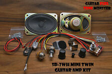 TONE MONSTER SD-2WH MINI TWIN Guitar Amp Amplifier KIT 2W Volume Gain Cigar Box