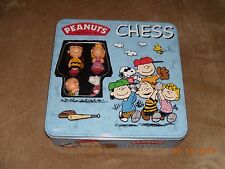 Peanuts By Schulz Collectable Chess Set (Charlie Brown, Snoopy, Lucy, Linus)