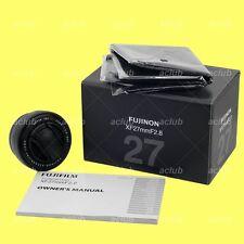Fuji Fujifilm Super-EBC Fujinon XF 27mm F2.8 Lens (Black) X-Mount 1:2.8 f/2.8