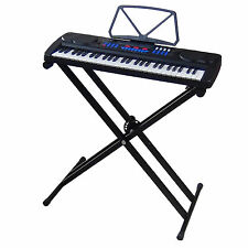 Clavier DynaSun MK4500 USB 54 Touches E-Piano Keyboard Enseignement + Support