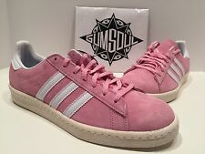 ADIDAS ORIGINALS CAMPUS LIMITED PINK SUEDE VINTAGE CREAM MIDSOLE S77704 sz 11