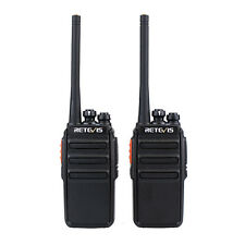 Nuovo 2pcs Retevis RT24 PMR446 Free License Scan 0.5W / 2W 2-Way Radio CO