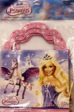BARBIE Magic of Pegasus FAVOR BOXES (4) ~ Birthday Party Supplies Treat Goody