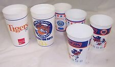 1984 Detroit Tigers Baseball Cups,Stadium Hall of Fame,Al Kaline,George Kell,Mug