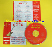 CD A TUTTO ROCK compilation PROMO 1996 HALEY RICHARD BERRY(C1*)no lp mc dvd vhs
