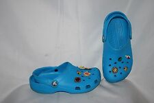 Crocs Women's Shoes Size M 3 & W 5 Blue Foam Light Weight Sandals