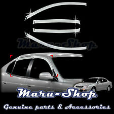 Chrome Door Window Vent Visor Deflector for 97~02 Daewoo Leganza