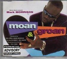 (CK853) Mark Morrison, Moan & Groan - 1997 CD