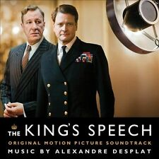 The King's Speech - Original Soundtrack (CD, Decca) Alexandre Desplat, Beethoven