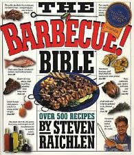 The Barbecue Bible First Printing 1998 Steven Raichlen 500 Recipes(Hardcover)