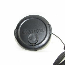 Used Canon E-52  52mm Lens Front Cap with string  Made in Japan S941039