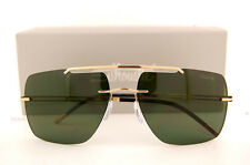 New Silhouette Sunglasses  Explorer 8674 6202 GOLD/SOLID GREEN Titanium