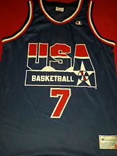 original Dream Team USA Shawn Kemp NBA Basketball Trikot geteert mega rar jersey
