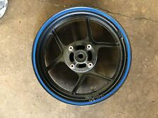 Kawasaki Ninja 05-15 636 OEM rear rim wheel zx6r 6RR STRAIGHT