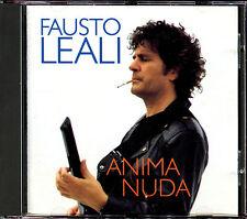 FAUSTO LEALI - ANIMA NUDA - CD ALBUM [1335]
