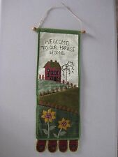 Decorative Wall or Door Organizer / Decor or Mail Holder / 2 Pockets / NEW