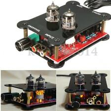 6J1 HiFi Stereo Tube Audio Headphone Amp Amplifier Preamplifier Pre-Amp Set