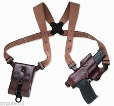 "Galco Jackass Rig Shoulder Holster, Left Hand Havana 1911's 3, 4, 5"" , JR213H"