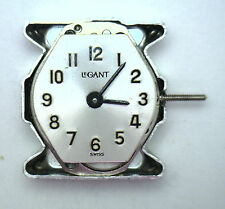 NOS New Antique MONTGOMERY WARD Co 17j Swiss Wrist Watch Movement CLEAR #'s X412