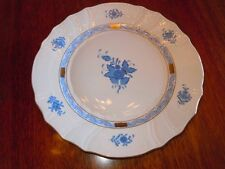 Herend Chinese Bouquet Blue ~ Dinner Plate ~ Excellent Condition
