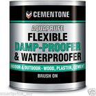 Cementone Aquaprufe 5L Damp proofer water proofing paint Solvent free Brush On